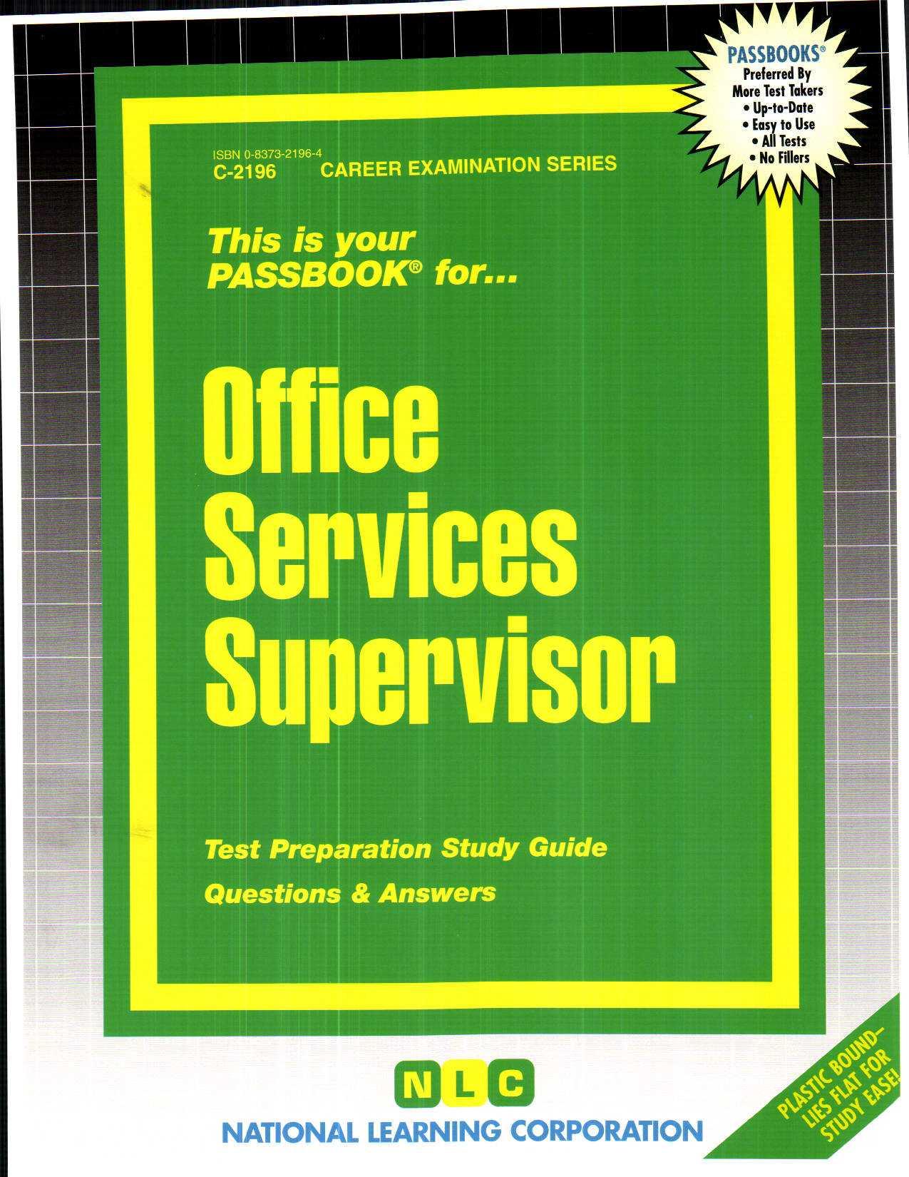 Office Services Supervisor By Rudman, Jack